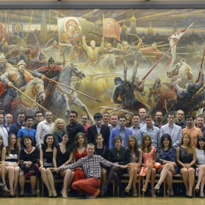 День рождения РА «Нью-Тон» в императорском дворце