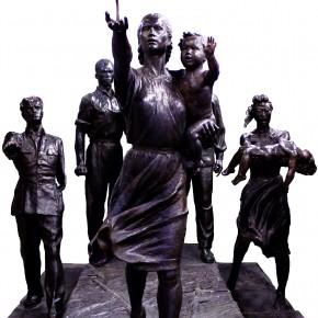 В Парк искусств возвращается скульптура В.И. Мухиной «Требуем мира!»