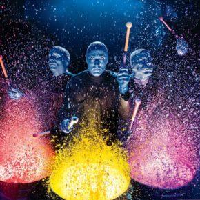 Премьера шоу Blue Man Group